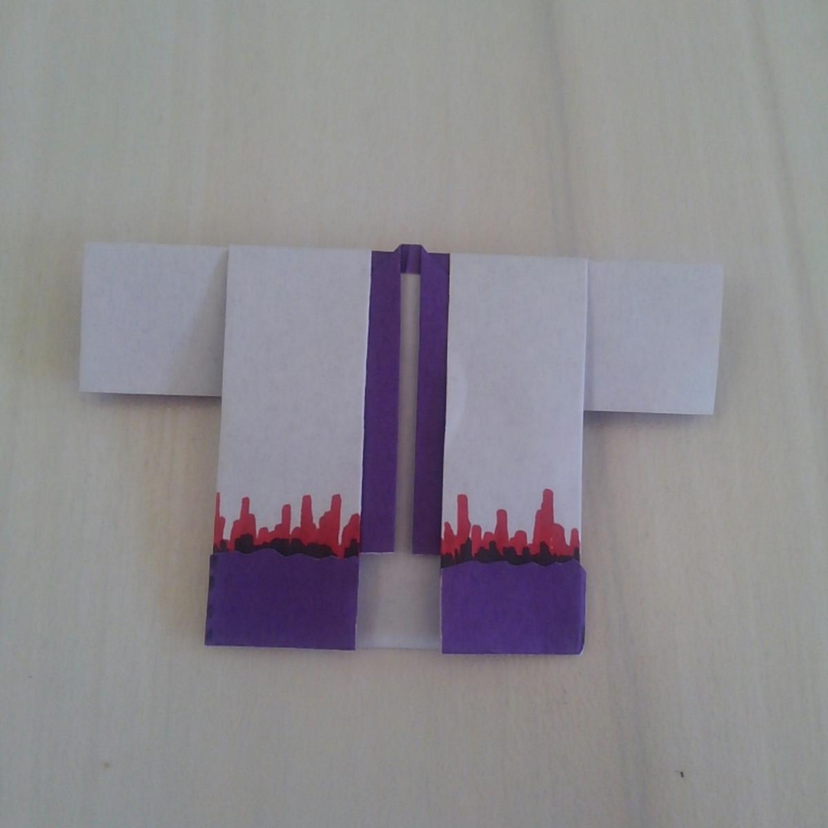 鬼滅の刃 折り紙 羽織 産屋敷耀哉