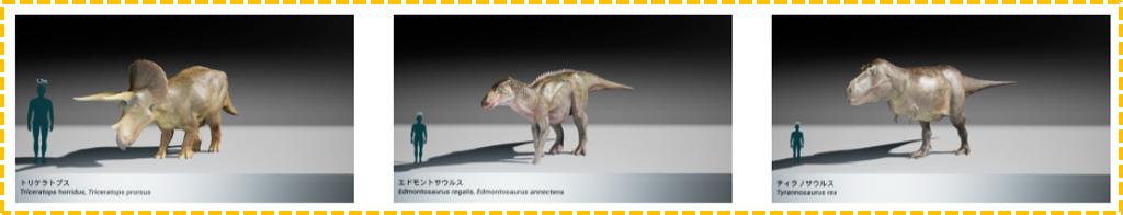 恐竜科学博 ララミディア大陸