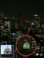 東京タワー大展望台から国会議事等は、上だけ見える