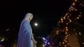 2018年 クリスマス前夜祭の時のマリア像