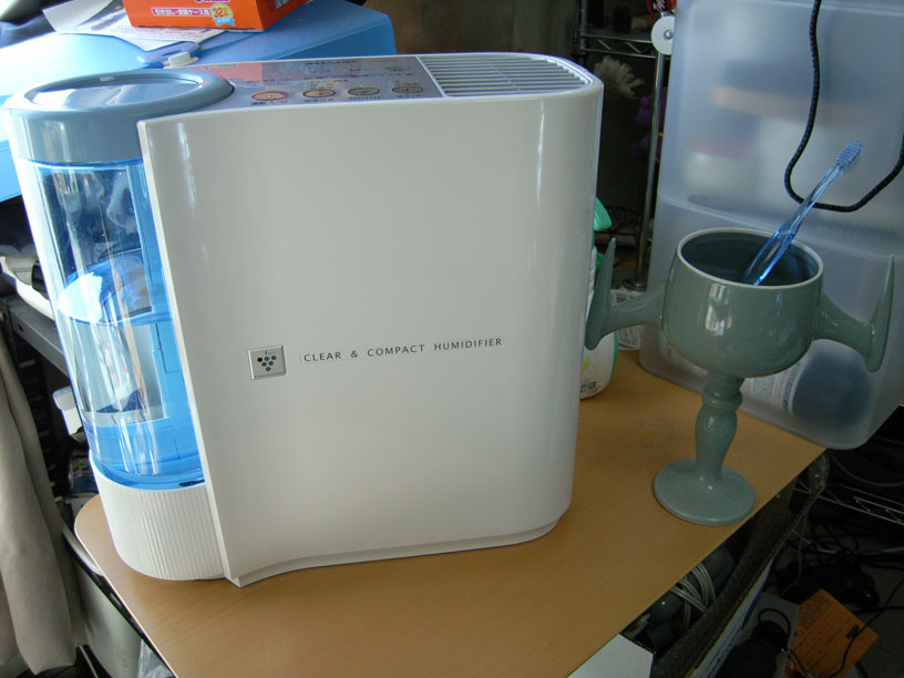 新しい加湿器