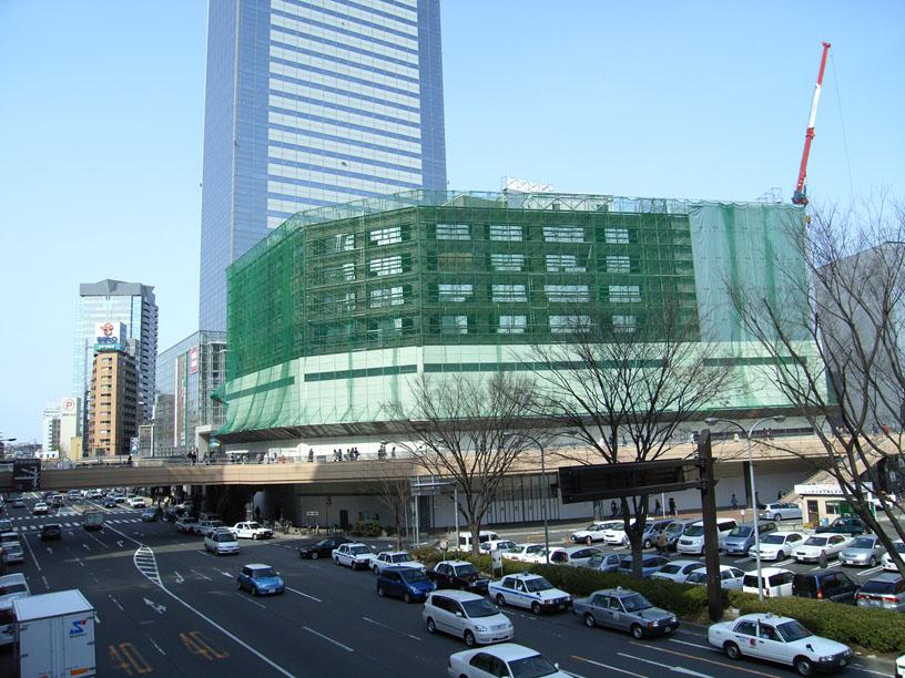 仙台駅そばビル解体