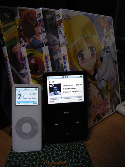 iPod nanoなの