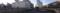 仙台駅前のパノラマ写真
