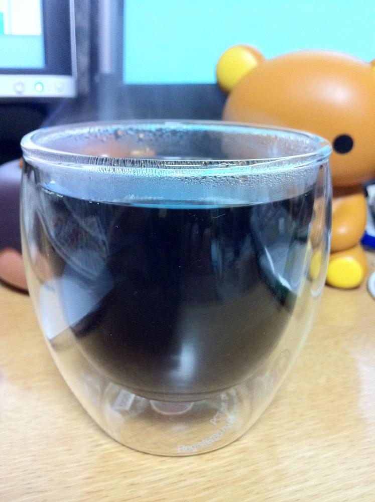 bodumのウォールサーモグラス