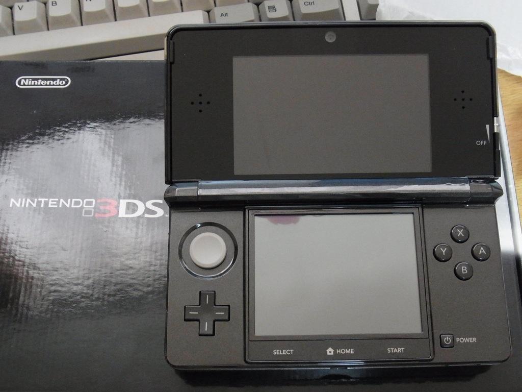 3DS 開封〜