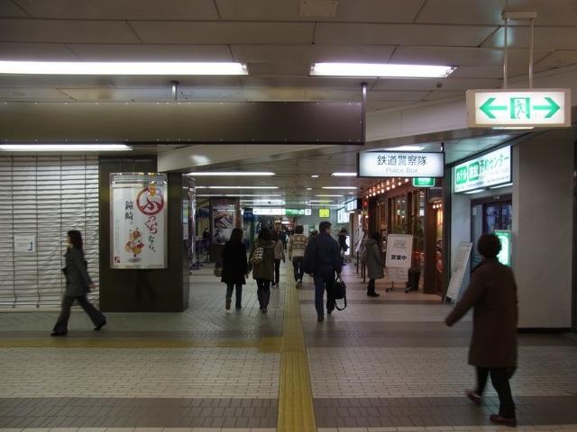 今日の仙台駅