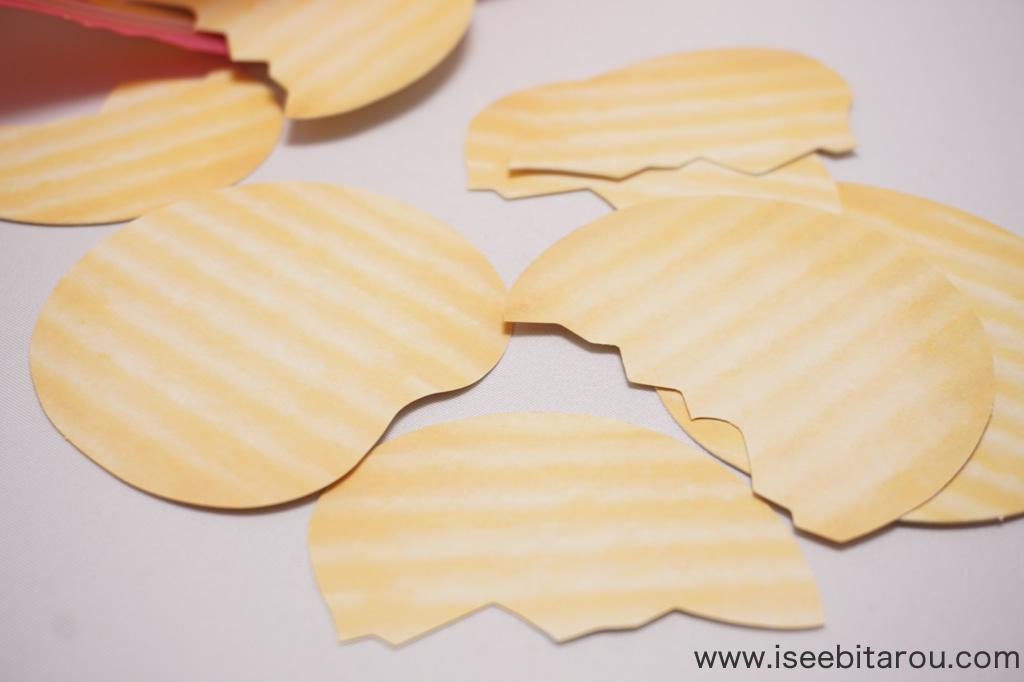 ポテトチップスメモ用紙