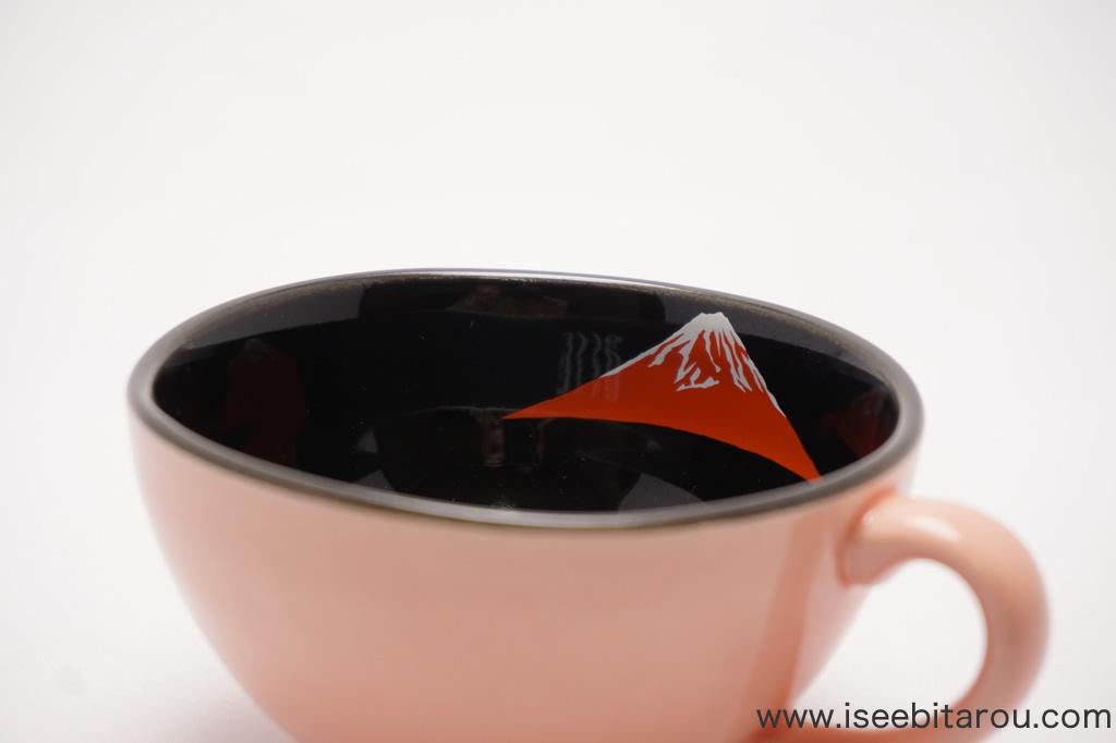 富士山のマグカップ