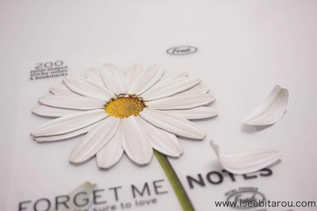 花びらの付箋紙