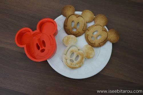 ミッキーマウス抜き型
