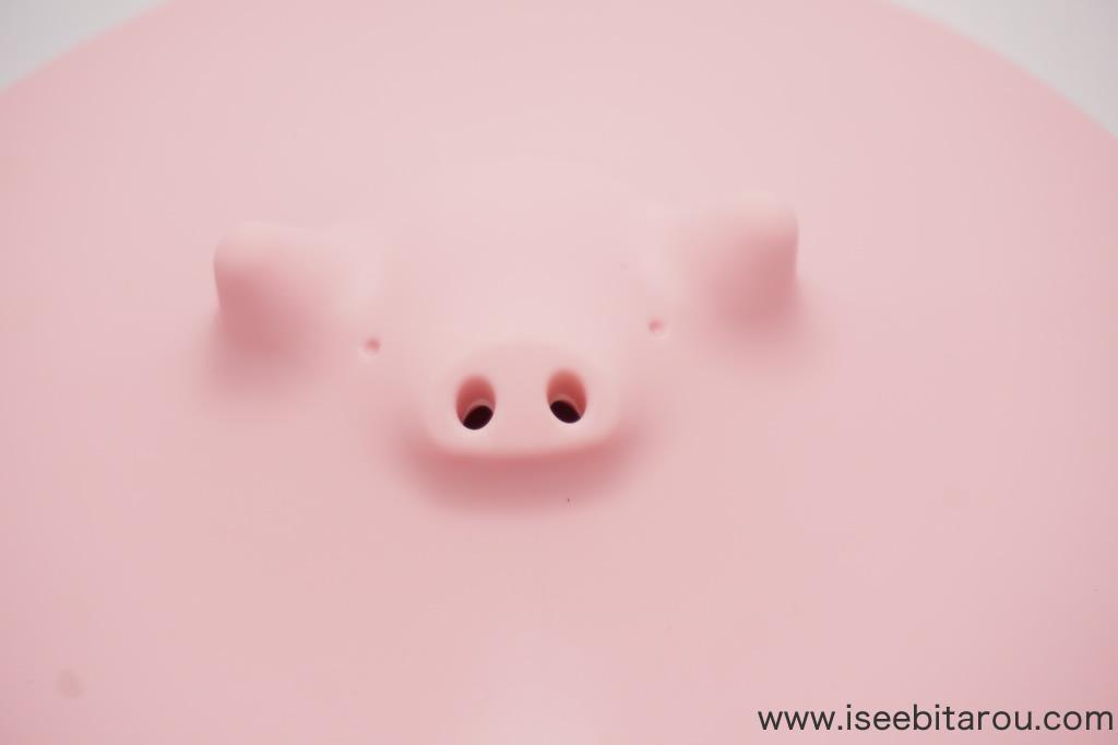 かわいい豚の落とし蓋