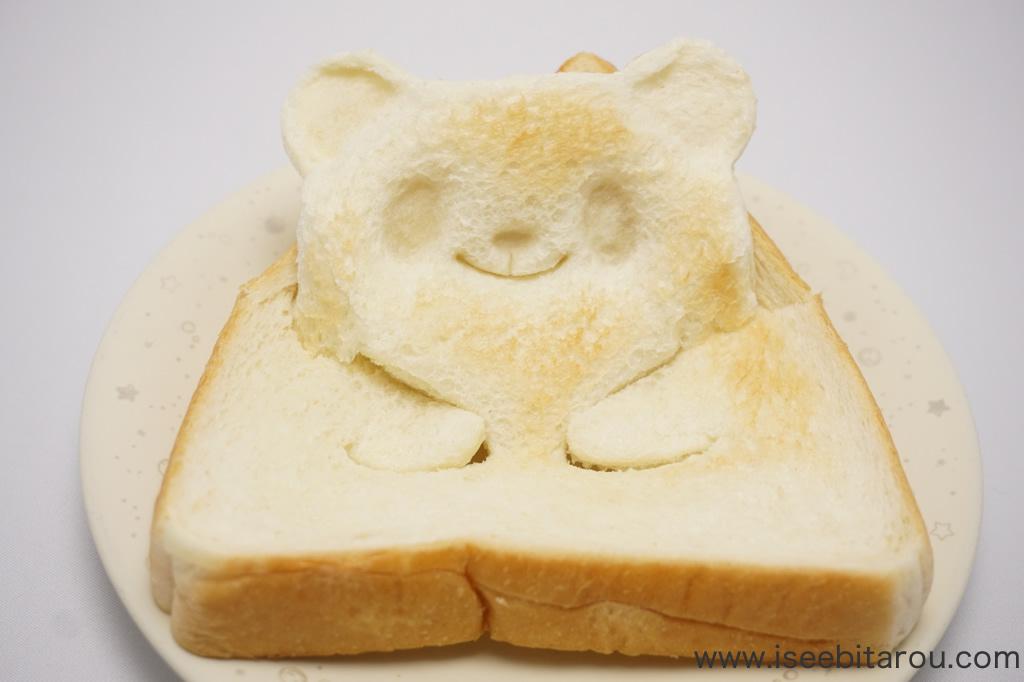 かわいい動物食パン