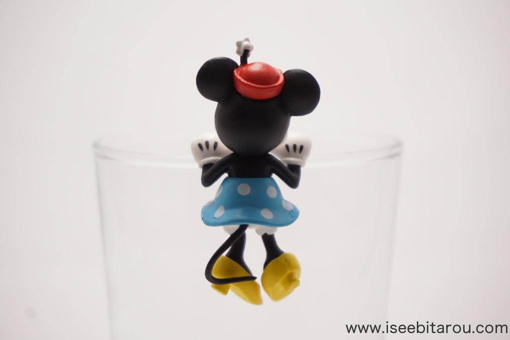ミニーマウスのコップのフチ子