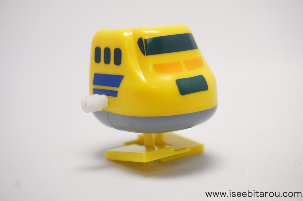 ゼンマイ式の新幹線おもちゃ