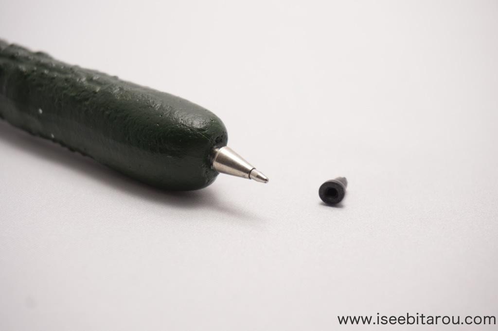 キュウリそっくりボールペン