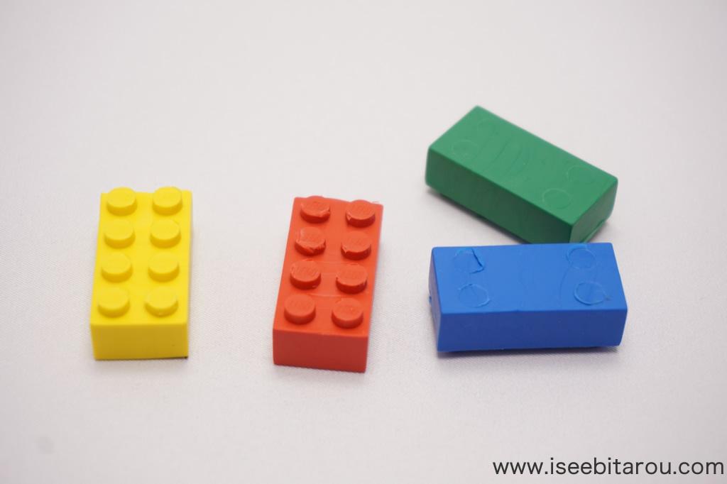 レゴブロック消しゴム