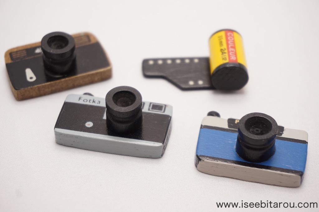 カメラとフィルムのマグネット