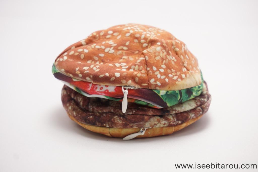 ハンバーガーそっくりポーチ