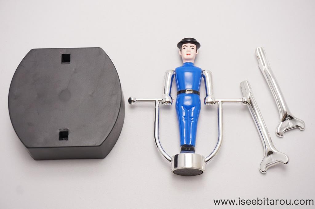 男子体操選手の玩具