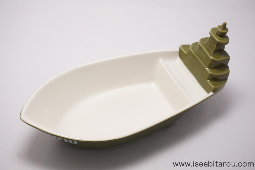 おもしろいカレー皿