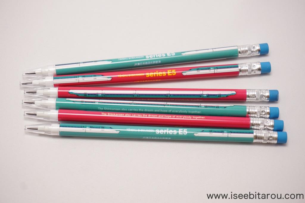 芯が次から次に出るロケット鉛筆