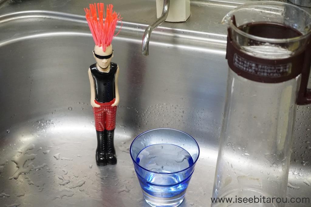 洗い物用キッチンブラシ