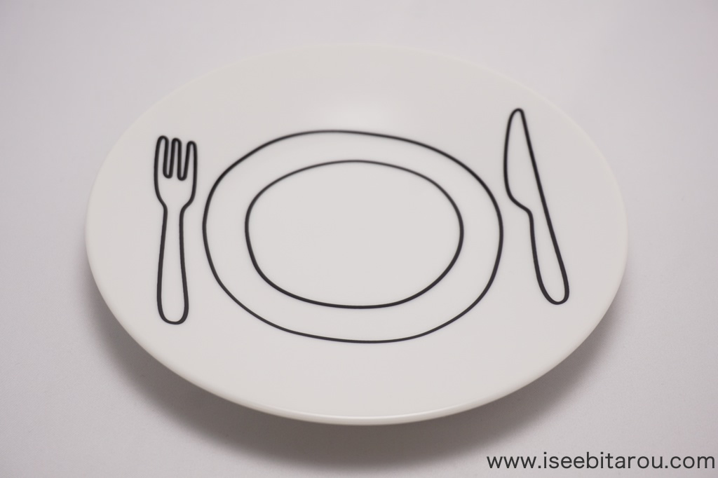 お洒落でかわいいお皿