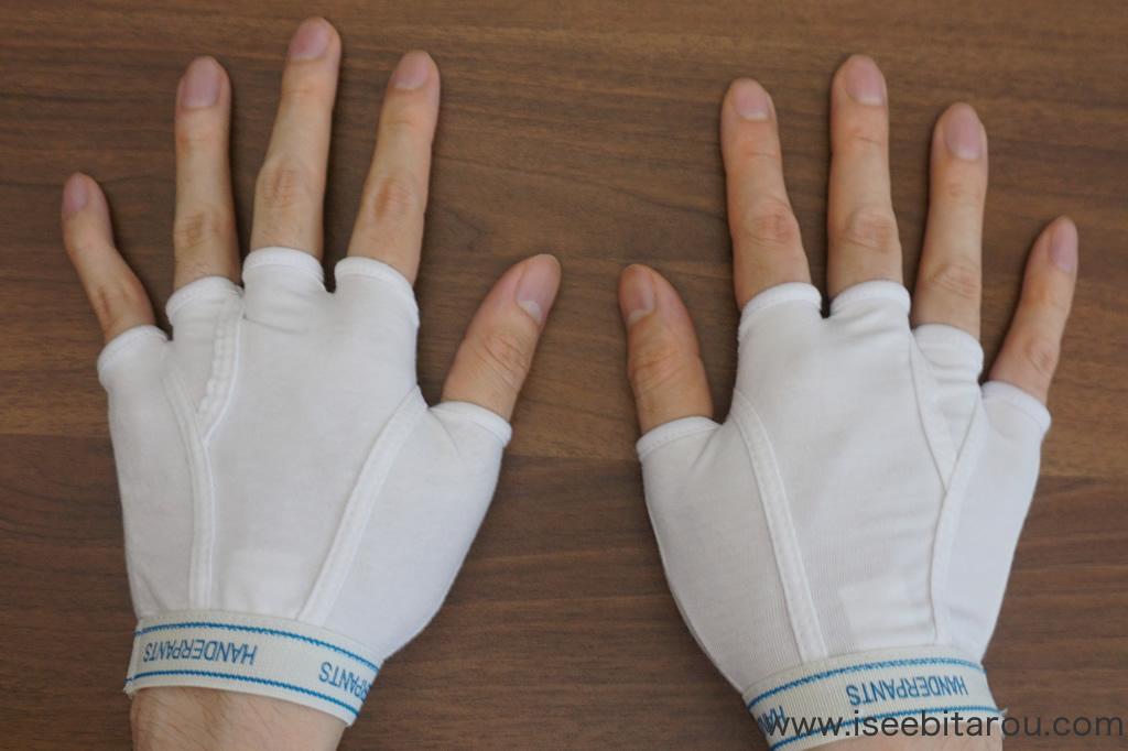 おもしろいデザインの手袋