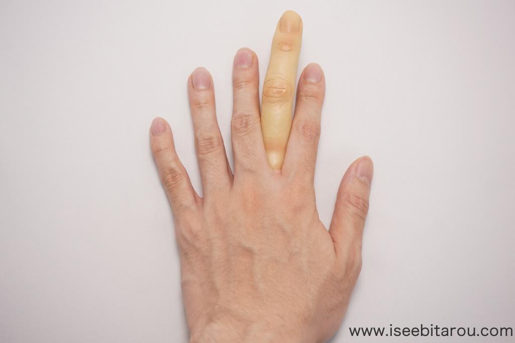 指そっくりボールペン