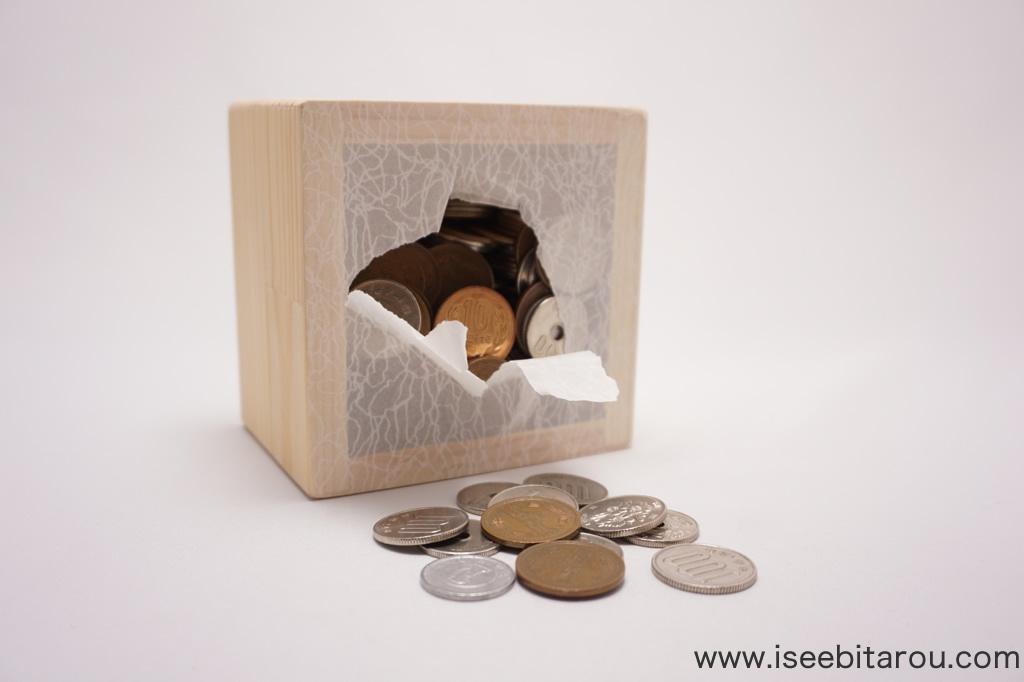 おもしろい貯金箱