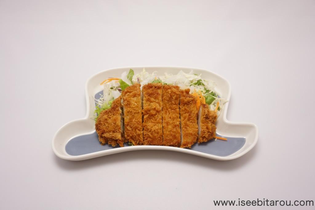 漢字デザインのお皿