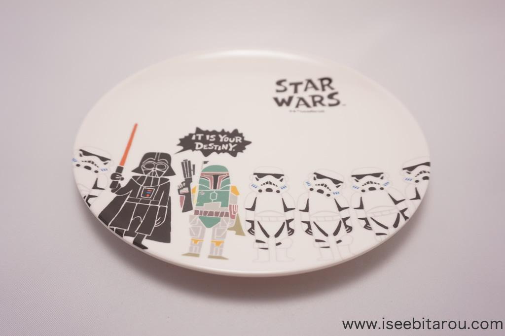 スターウォーズのメラミンプレート皿