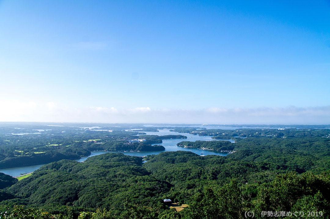 横山展望台からの絶景