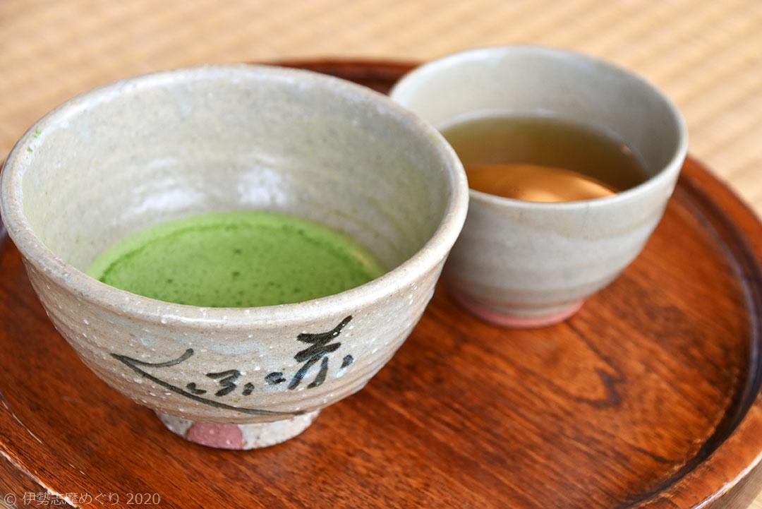 赤福の抹茶