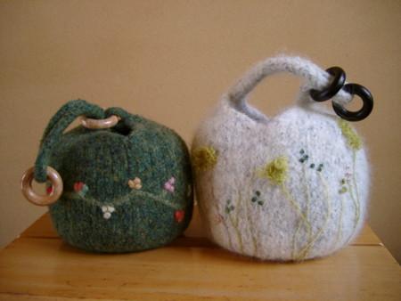 Dumpling Bag Knitting Pattern : ishis knitting diary - ????????
