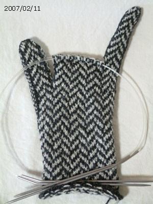ヘンリーボーンの手袋 #4