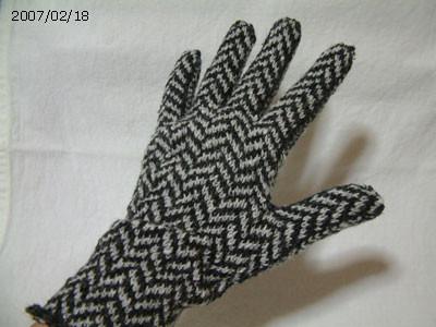 ヘンリーボーンの手袋 #5 A面