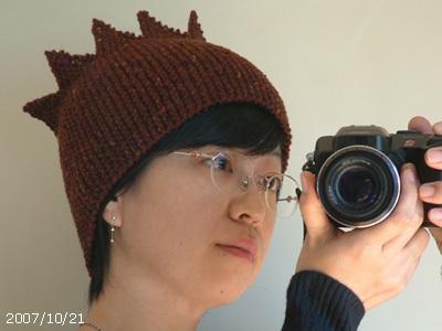 防寒対策帽子2007 #2