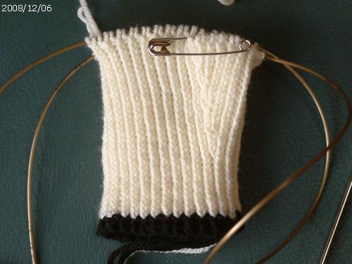 Panda Wool Mitts #1