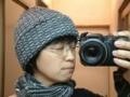 [完成@2006]ジグザグマフラーとお揃い糸で帽子