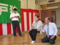 95歳斉藤さんと沼田老人クラブ会長さんのデュエット