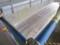 駅の二階から見た飯山線、ここに駅ができる