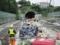 駅より飯山トンネルを望む