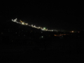 戸狩温泉スキー場のナイター照明