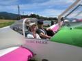 パイロットの万場さんと私