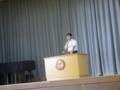 野澤戸狩小学校教頭先生来賓祝辞