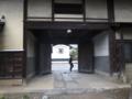 裏門ー飯山城城門のひとつと伝えられている