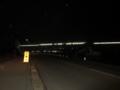 夜の飯山駅