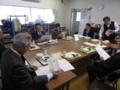 総務文教の委員が川口所長の説明をうける